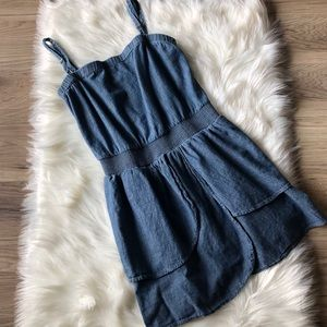 7 For All Mankind Denim Dress  - Size Small